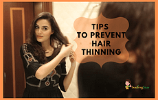 hair styling products to prevent hair thinning