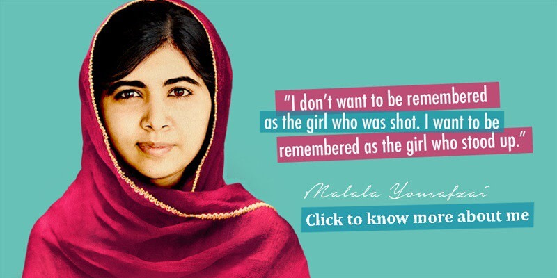 "Things We can all learn From ""Malala Yousafzai"""