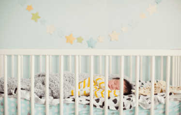 steps for building sleeping routine of a baby