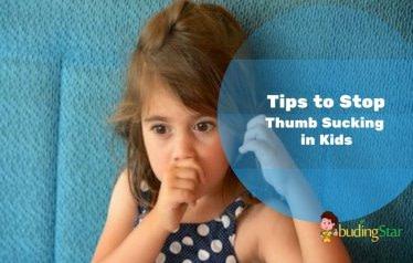 Tips to Stop Thumb Sucking Habit in Kids